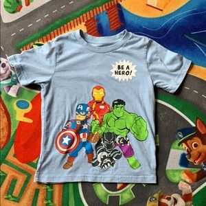 MARVEL Be A Hero Tee. Size 6
